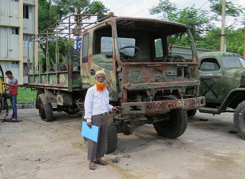 Mr Zahir and his ex-Bangladesh Army Arunima Bolyan