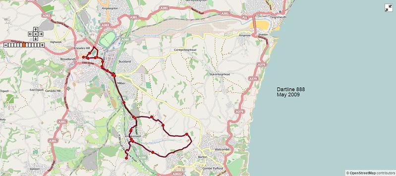 Dartline Route-888 2009-05-27