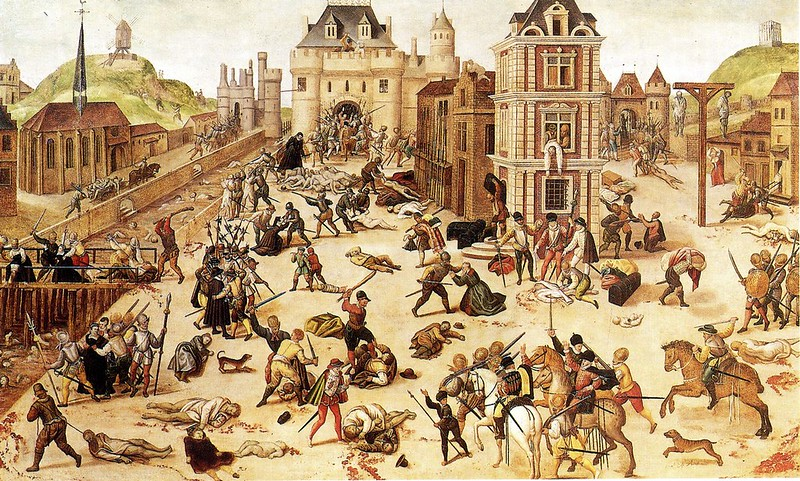 Saint Bartholomew's Day Massacre, by François Dubois