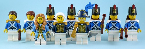 Pirates III All Minifigures From Regular Sets - Soldiers