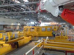 ETV assembly Arlanda Airport