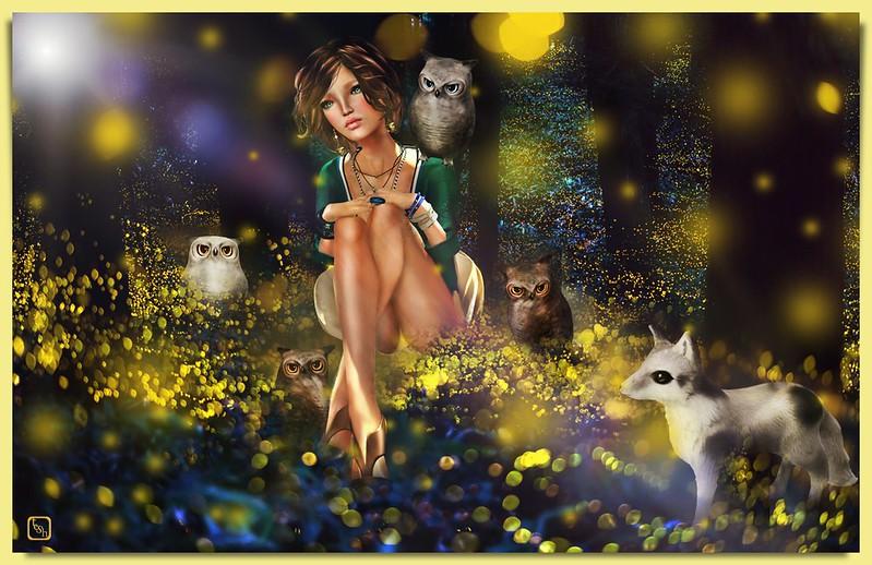 Fireflies.