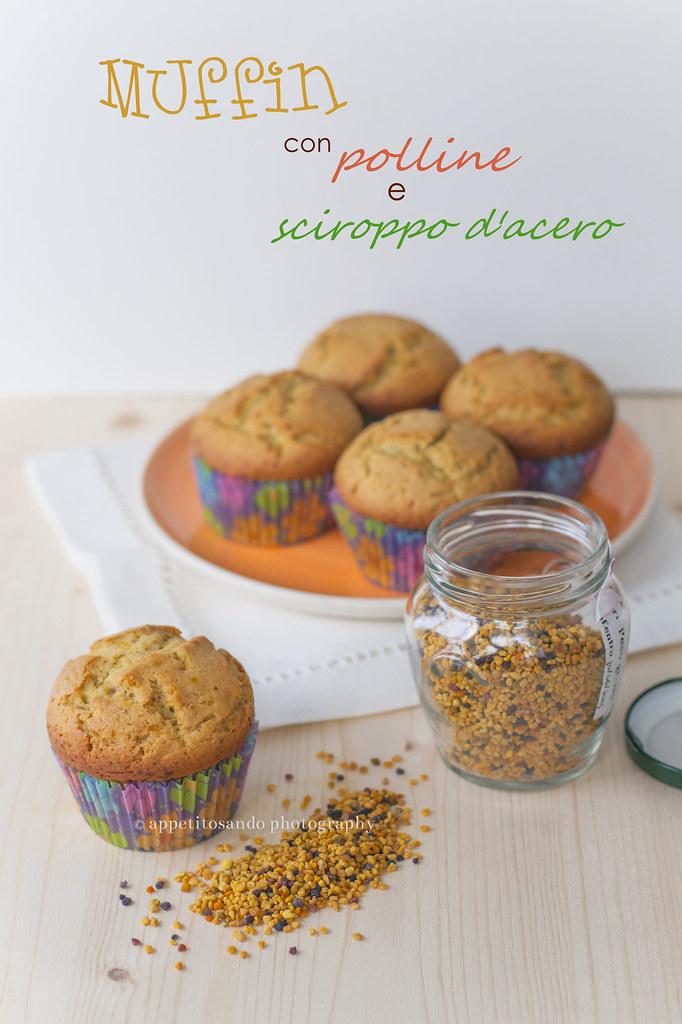 muffin al polline