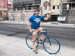 Ron on a Blue Bike @ Las Vegas 04.2015