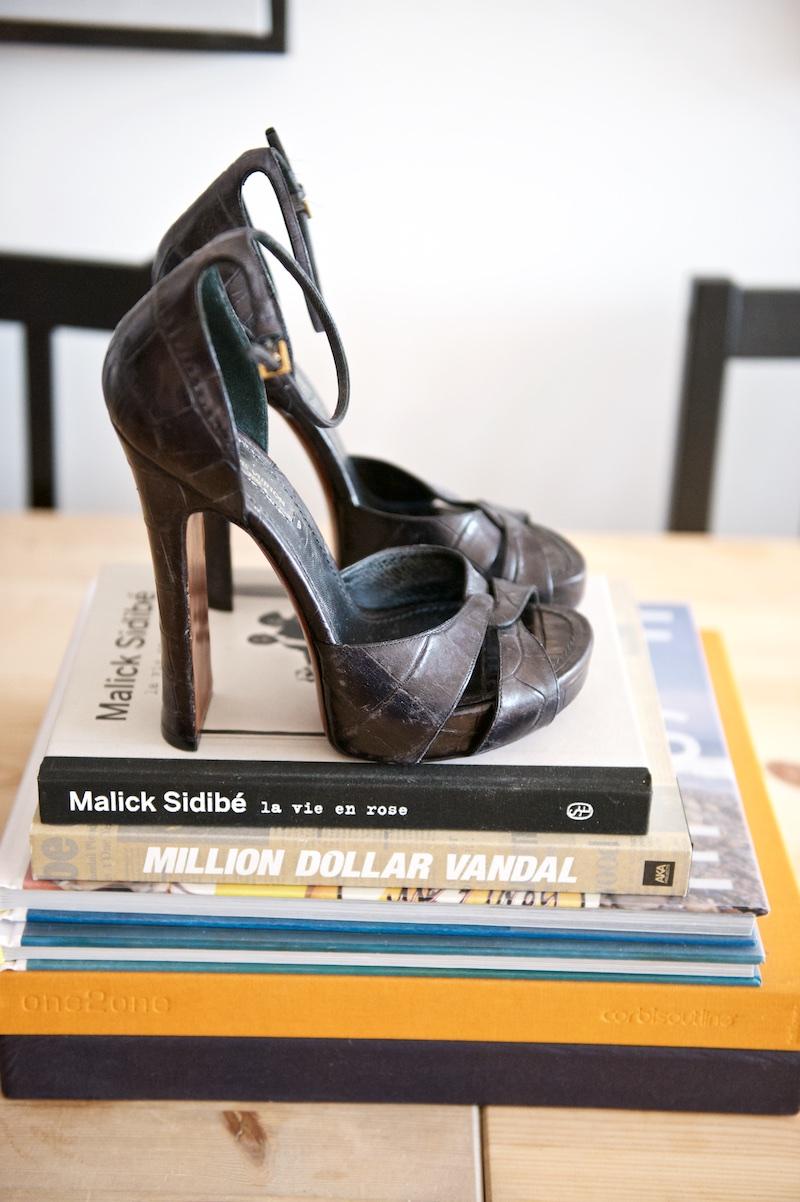 Louis Vuitton platform shoes