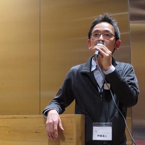 伊藤さん。ビミョーなサービスの広告記事をどう書けば良いかについて、懇親会でもいろいろお話をお伺いしました。 #tbmu