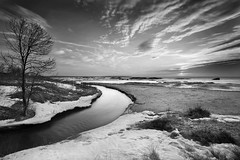 Otter Creek - B&W