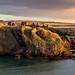 Dunnottar Castle at Sunrise by JSP92