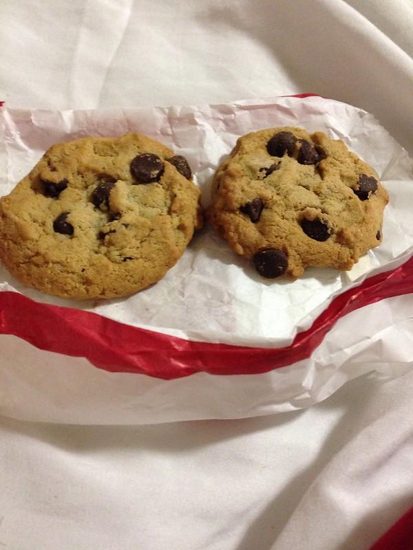 This morning's breakfast! #cookies #notsohealthy