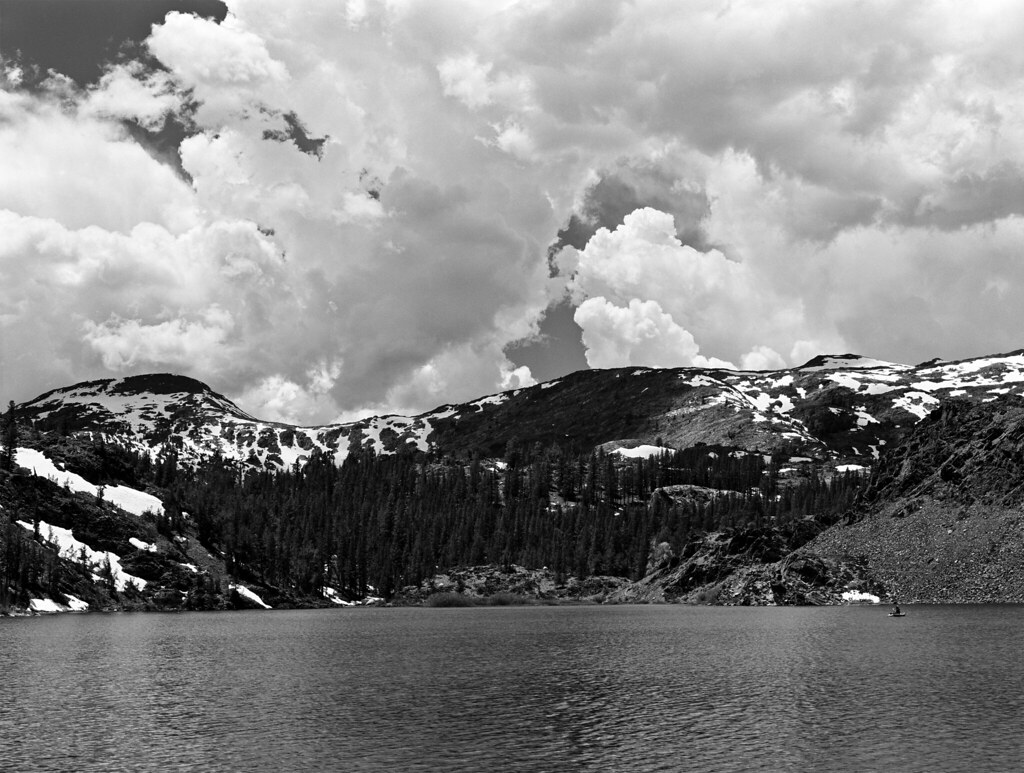 Ellery lake yosemite region