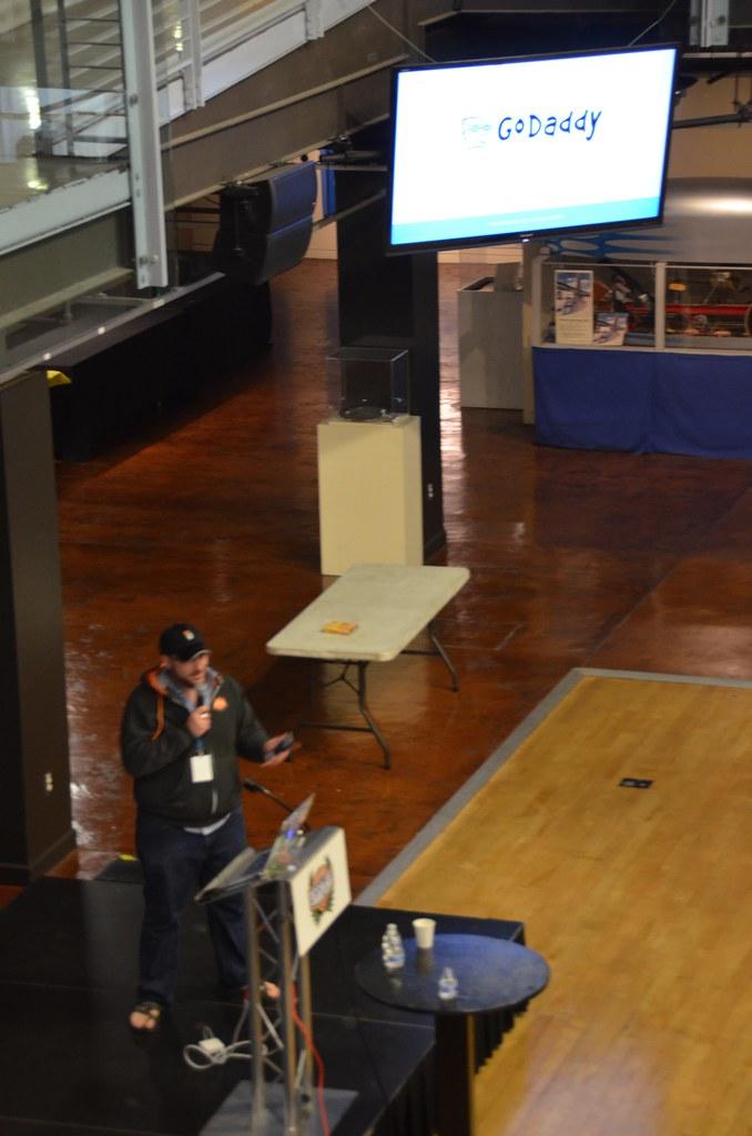 GoDaddy's Mendel Kurland at #WCSD15