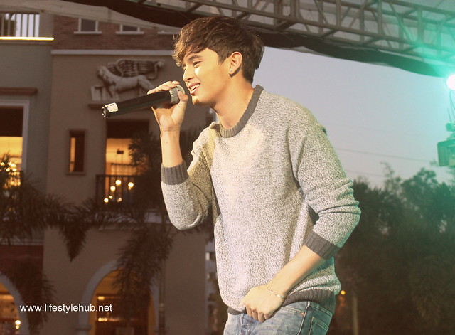 James Reid at the Venice Piazza