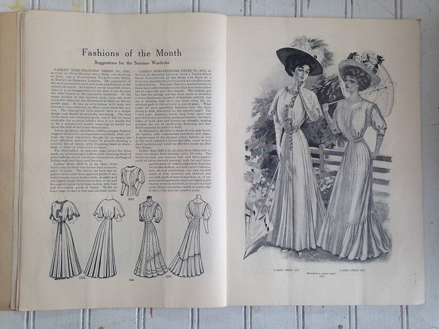 Magazine Monday // July, 1908 Designer