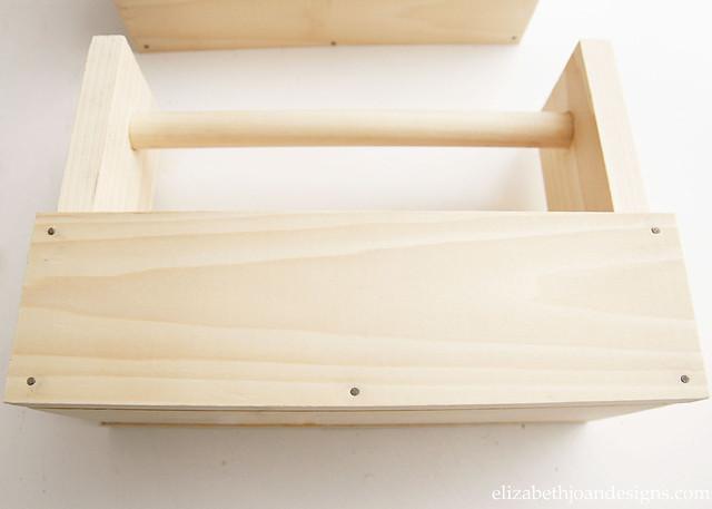 Wood Box Caddy Nails