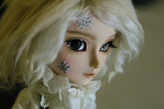 [Prince] new make-up !