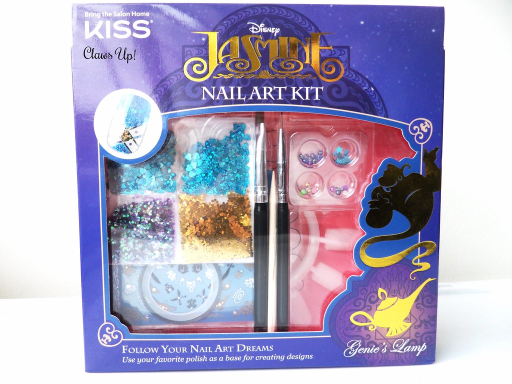 Princess Jasmine nail art kit