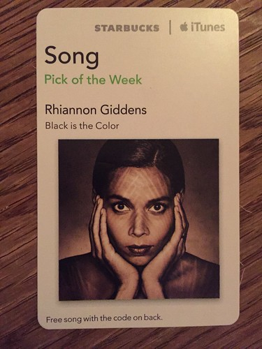 Starbucks iTunes Pick of the Week - Rhiannon Giddens - Black is the Color