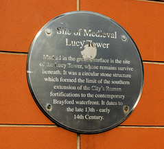 Photo of Brushed metal plaque number 39345