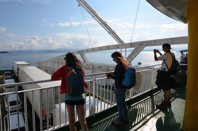 Rumbo a Tau en el ferry desde Stanvanger