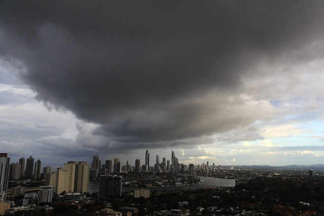 as if it's going to rain on the Gold Coast, Australia