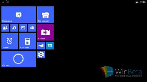 Windows 10 sur petites tablettes