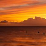 sunset at Payne's Beach, Barbados