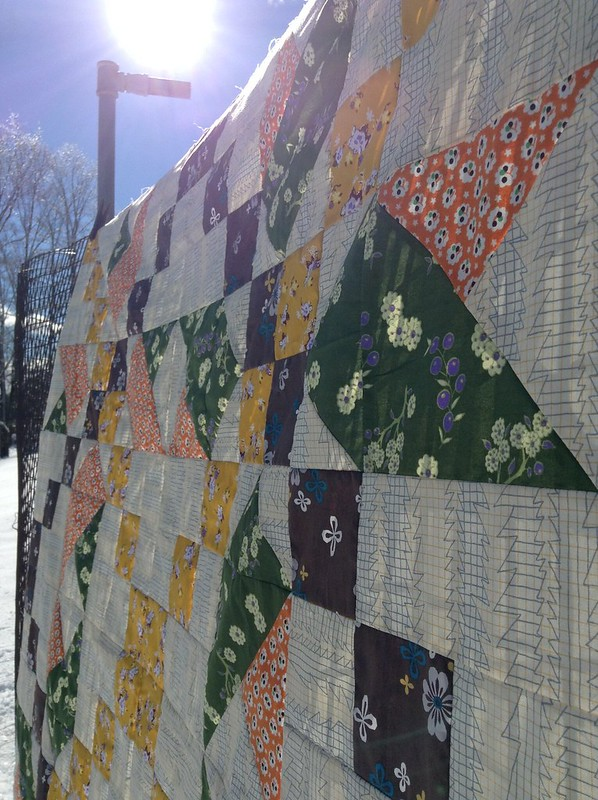 Star Jump Quilt by Jess of Elven Garden's Quilts
