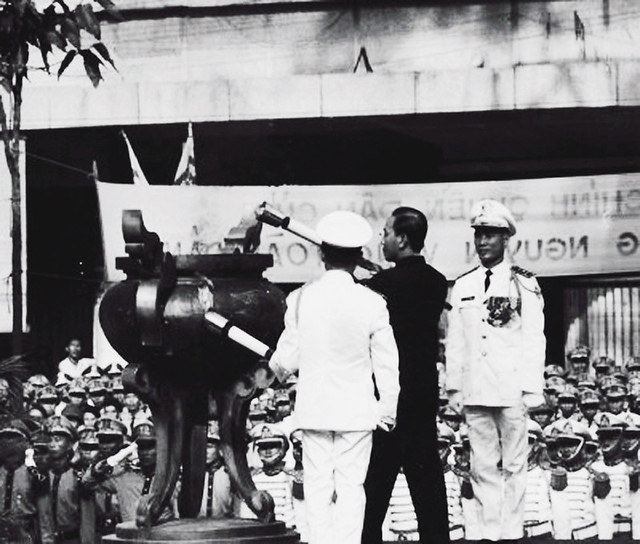 31 Oct 1967 Saigon, South Vietnam --- President Thieu's First Inaugural