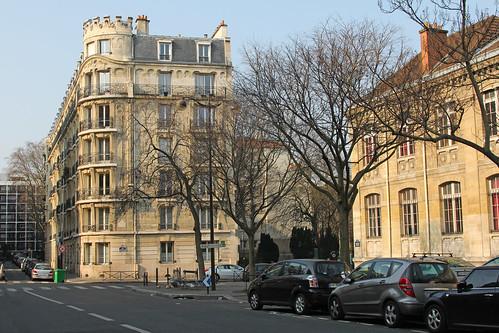 Avenue Dorian -Paris (France)
