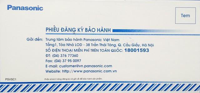 Bảo hành Panasonic