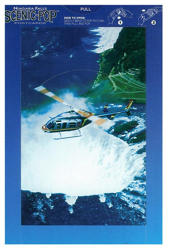 Canada - Niagara Falls - Scenic-pop - helicopter