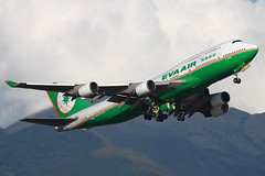 EVA Air Boeing 747-400M B-16405, 18-Jul-2012