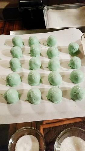 Margarita Cake Balls