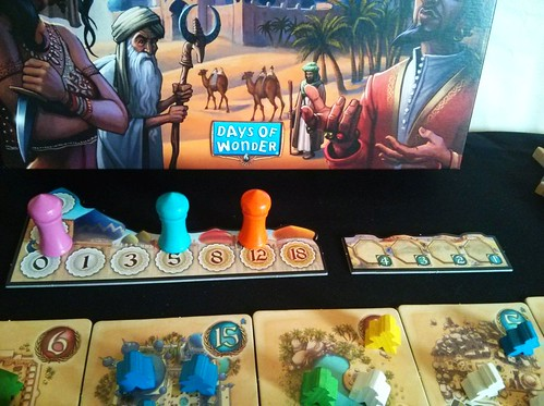 029 Five Tribes Gameplay 1