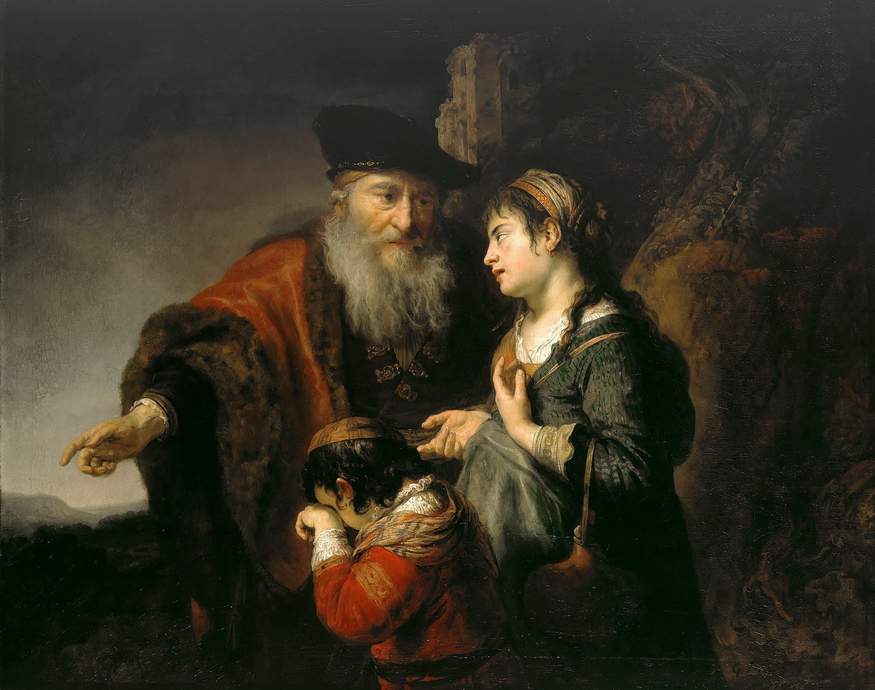 Govaert Flinck - The Expulsion of Hagar