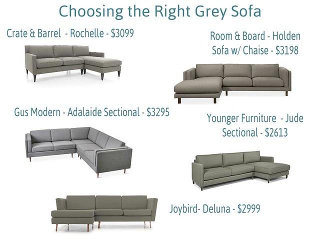 Gray Sofas