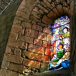 window in chapter house