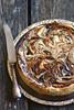 Mustade ploomide ja rummiga toorjuustukook / Prune and rum cheesecake