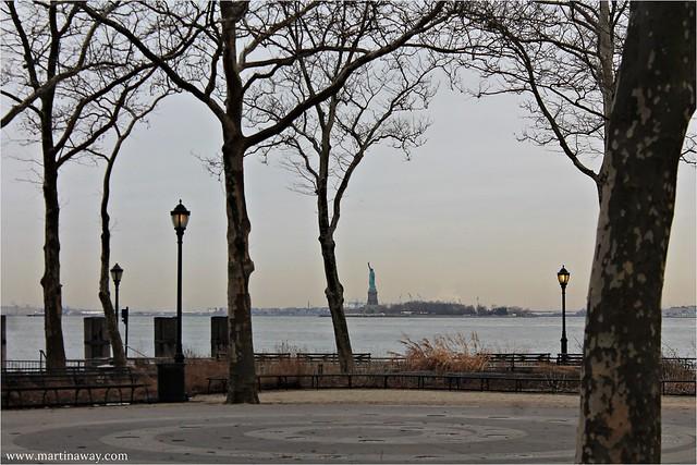 Statua della Libertà da Battery Park