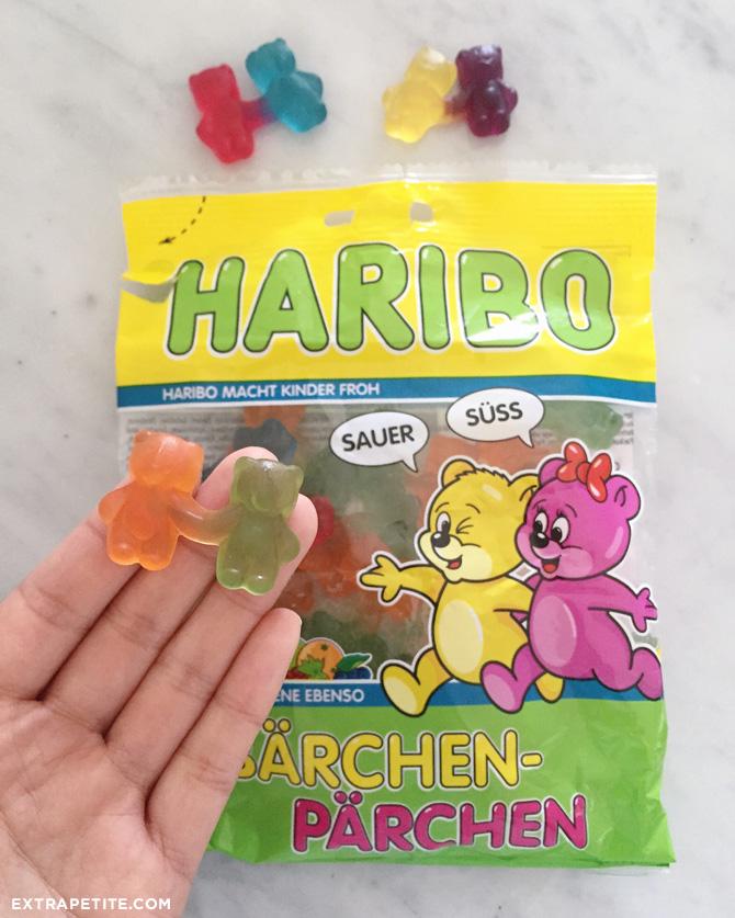 haribo barchen parchen sweet sour gummy couple bears