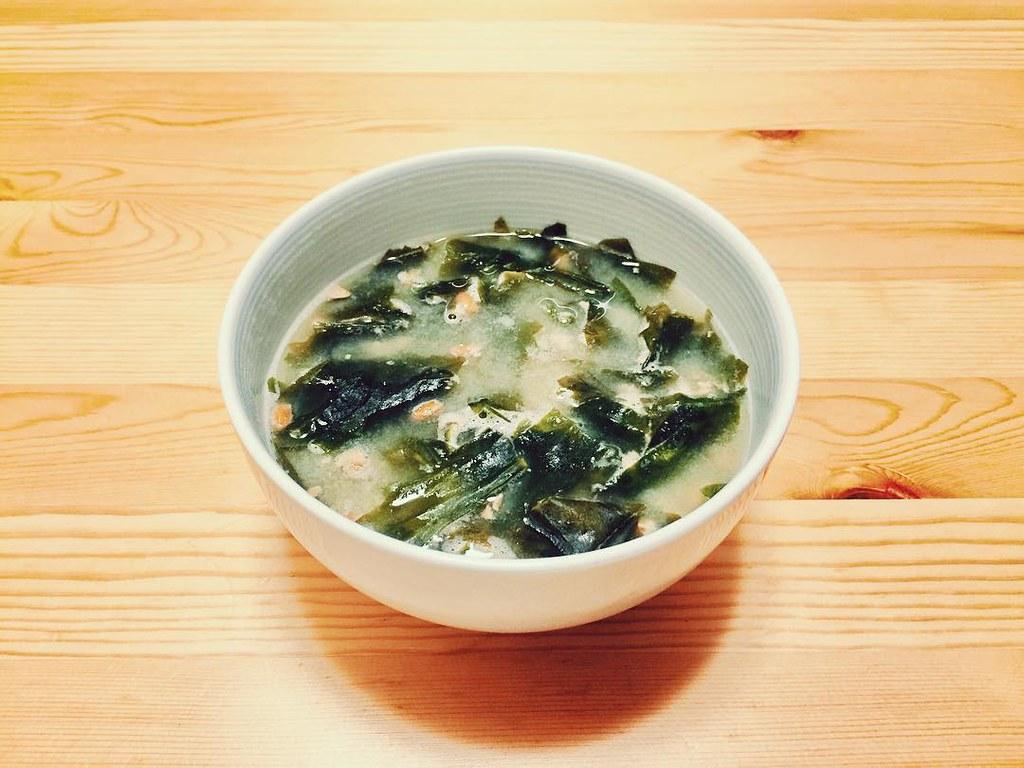 納豆のお味噌汁(納豆汁)