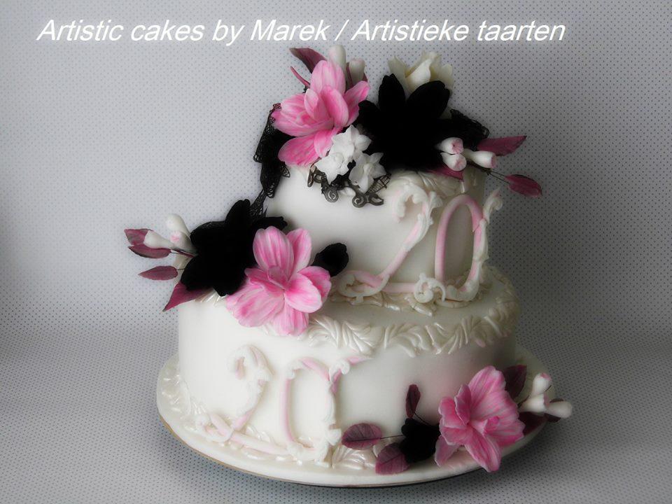 Beautiful Cake by Artistic Cakes by Marek - Artistieke Taarten