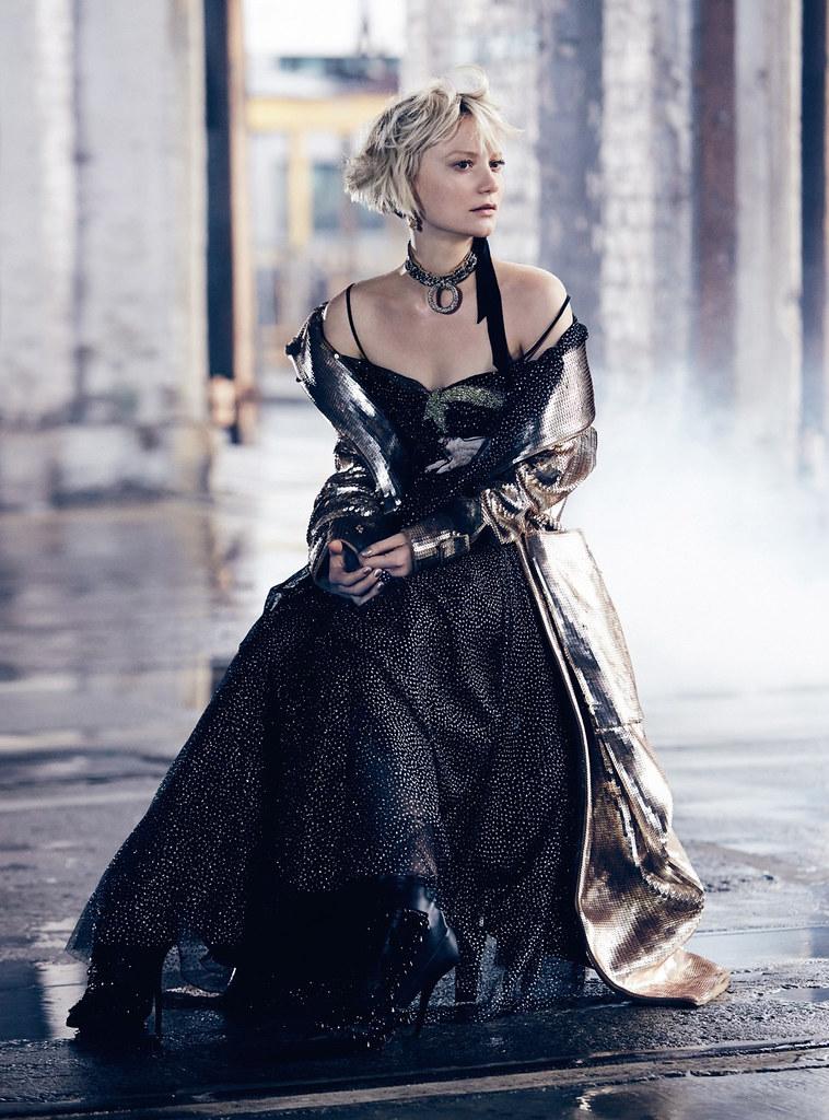 Миа Васиковска — Фотосессия для «Vogue» AU 2016 – 6
