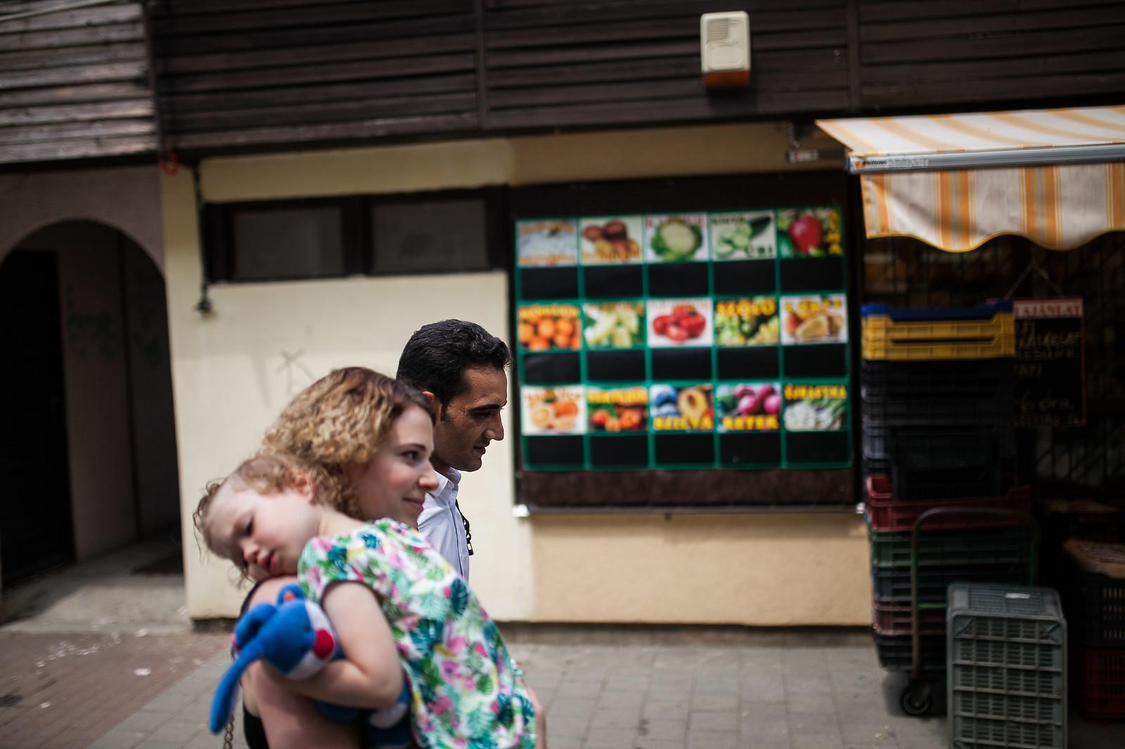 Omar és Móni tavaly nyáron