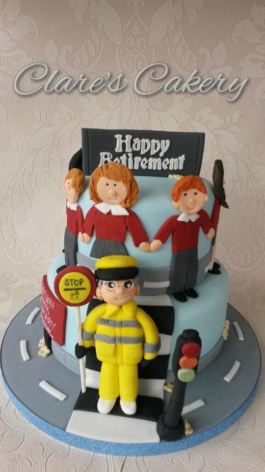 Retirement Cake by Clare Hayward