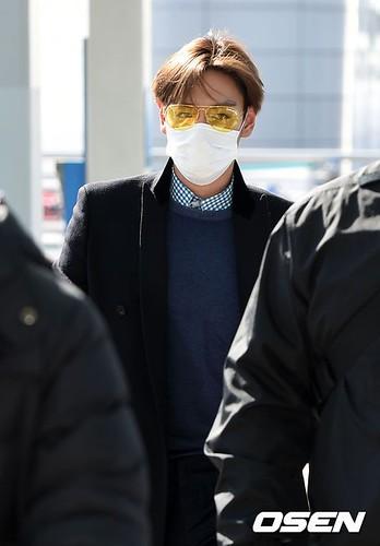 TOP - Incheon Airport - 13mar2015 - Osen - 04