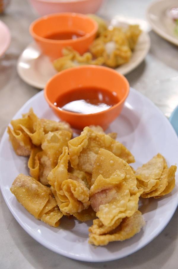 Fried Wanton @ Hoong Tho