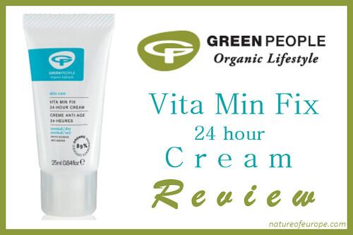 Green People Vita Min Fix Cream Review