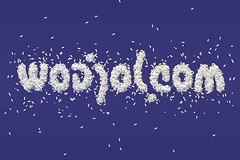 ambigram blue wodjol