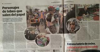 9º Salón del Cómic y Manga de Castilla y León. en los medios
